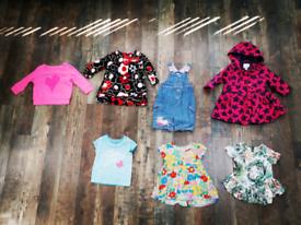 Girls NEXT clothes bundle age 12-18 months.