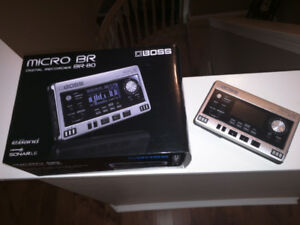 BOSS BR-80 Digital Recorder - Mint condition, never used.