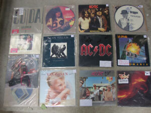 1000's of new and used LP Vinyl records -albums
