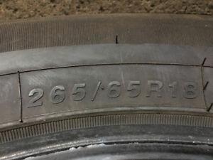 265 65 18 pneus hiver usage