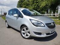 2014 14 Vauxhall Meriva 1.4i Petrol Tech Line Manual with Full Service History