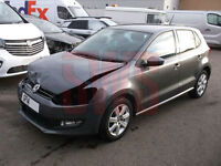 2014 Volkswagen Polo Match edition 1.2 DAMAGED REPAIRABLE SALVAGE