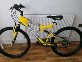 "Rhino Thorax Dual suspension 26"" wheels mountain bike"