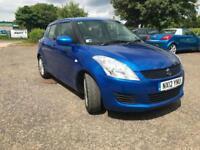 Suzuki Swift 1.2 SZ3, blue buy this car from £26.96 per week