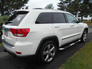 2011 Jeep Grand Cherokee Overland with low mileage