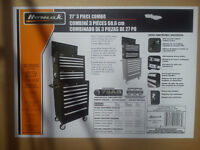 NEW Homak Tool Cabinet (Top + Mid Chest)  - Christmas Gift