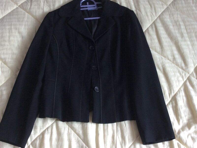 New Agnes B Black Fully Lined Jacket