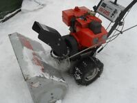 "Craftsman 25"" snowblower 8 hp.tecumseh"