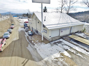 INDUSTRIAL SHOP - 1565 North Cariboo Highway only $249,900!