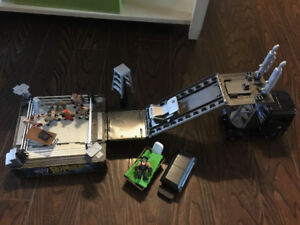 WWE figures and play sets