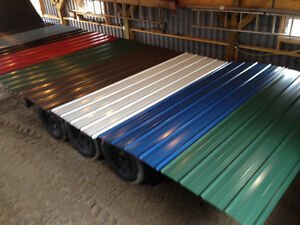 1500 Square Feet Brand New Steel Roofing