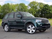 Land Rover RANGE ROVER SPORT 3.0 SD V6 HSE Station Wagon 4x4 5dr (green) 2012