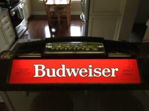 1988 Budweiser Clydesdale Championship Bar/Pool Light