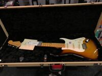 Fender Eric Johnson Stratocaster Sunburst 2017 Unused Mint! Swap for Blonde In Same Condition!