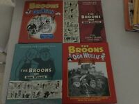 Oor Wullie and the Broons hard back annuals