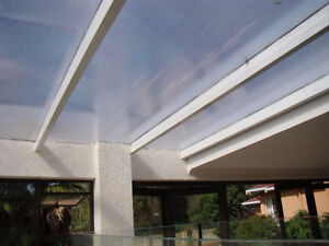 Patio Roof Cover Material -- Polycarbonate twinwall