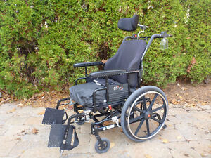 SUPER TILT Maple Leaf Wheelchair - 1 Year Old with Limited Use
