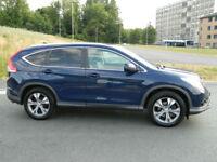 2013 (13) Honda CR-V 2.2i-DTEC ( 150ps ) 4X4 EX WITH SAT NAV+LEATHER+PANORAMIC