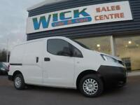 64d7cc2e75 2014 Nissan NV200 DCI ACENTA VAN  ONE OWNER  Manual Small Van
