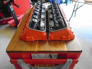 SMALL BLOCK CHEV DOUBLE HUMP HEADS