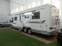 AUTOTRAIL CHEYENNE 840D / TAG AXLE / ISLAND BED / 4 BERTH / SORRY NOW SOLD