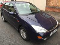 FORD FOCUS 1.6i GHIA >PRICE REDUCED TO £650) FULL MOT..F S H..LEATHER INTERIOR