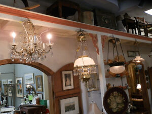 Large selection of antique lamps and light fixtures Kitchener / Waterloo Kitchener Area image 6