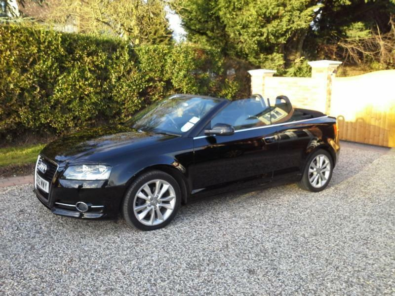 2012 62 audi a3 1 2tfsi sport convertible in brentwood essex gumtree. Black Bedroom Furniture Sets. Home Design Ideas