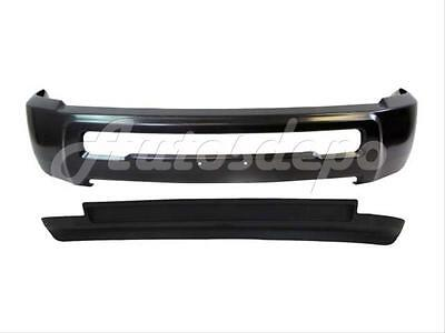 For DODGE RAM 2500 3500 4WD 2010-2012 FRONT BUMPER BAR GRAY AIR DAM W/O FOG HOLE