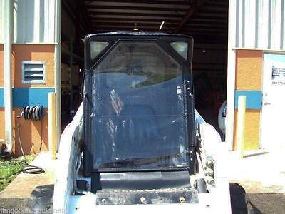 Bobcat Skid Steer Cab Doorfits T630t650t750t770t870 Vinyl Front Door Only