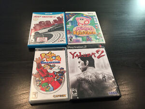 Games for multiple systems (DS, Vita, Wii, Wii U, PS3, GC, etc)!