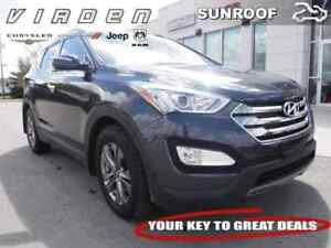 2016 Hyundai Santa Fe Sport 2.4 Luxury **SUNROOF!! LEATHER SEATS