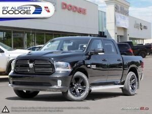 2015 Ram 1500 Sport  HEATED  COOLED LEATHER | SUNROOF | BACKUP C