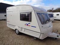 Bailey Ranger 380/2 1999 2 Berth End Kitchen Single Axle Touring Caravan