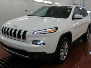2017 Jeep Cherokee Limited  - Navigation  - $132.22 /Wk
