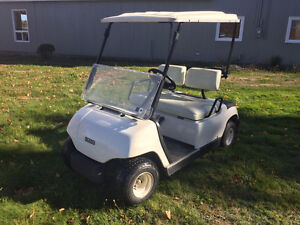 PRE-OWNED YAMAHA GAS GOLF CART FOR SALE!