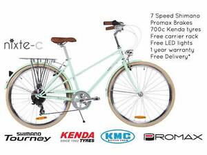 NIXEYCLES Nixte-C (Unisex) 7 Speed Bicycle | Free Delivery Sydney City Inner Sydney Preview