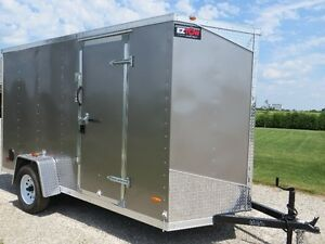 2016 RC Enclosed Trailers 6' X 12'