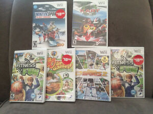 ‼️Brand NEW sealed Wii games‼️