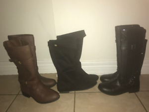 Girls Boots for Sale! Size 3 1/2