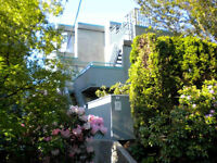 Spacious Private 2 Bedroom Furnished Townhome in Kitsilano #655