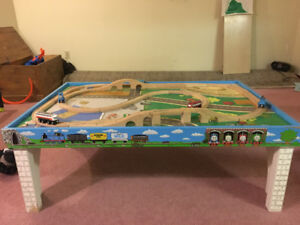 Thomas the Train Table and trains