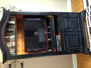 TV/accessories Unit, solid wood