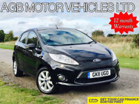 FACELIFT 2011 FORD FIESTA 1.4 PETROL ZETEC MODEL - ONE OWNER FROM NEW