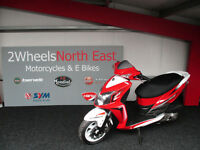 Sym Jet 4 124.6cc 125 Scooter 125 From £12per week.
