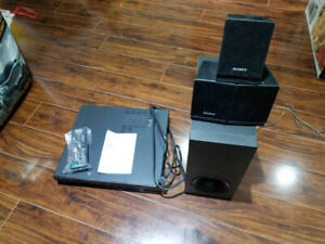 Sony Home Theater Sounds System with DVD Player