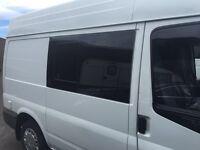 VW t5 t4 t6 window fitting any van campervan welcome
