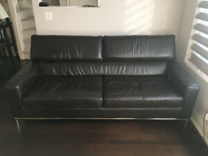 Genuine Leather Couch - trust me, it's awesome!