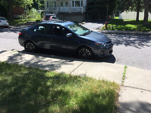 2016 Toyota Corolla S, Package D Sedan