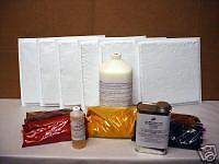 DIY SUPPLY KIT w/6 MOLDS CRAFT 100s OF 12x12 RUSTIC PATIO FLOOR TILES $0.30 EACH